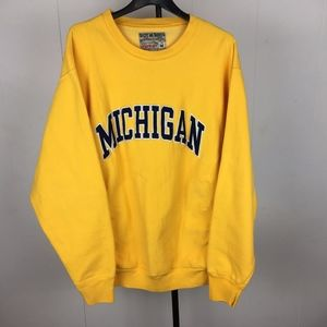 VTG Michigan Wolverines Steve & Barry's Crewneck M